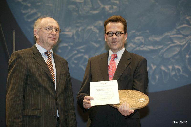 Konrad Adenauer Preis 2006 in Silber