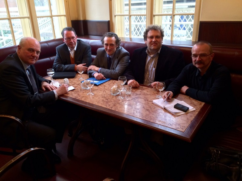 Detlef Werner, Harald Baal, Tim-Rainer Bornholt, Matthias Sandel, Wigbert Schwenke