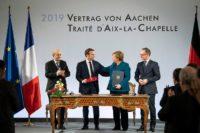 Vertrag von Aachen unterzeichnet