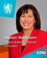 Thüringer Spitzenkandidatin für die Europawahl
