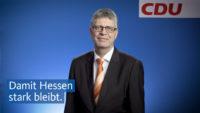 Christian Haase unterstützt die CDU in Hessen