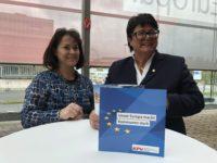 Europa-Flyer der KPV für Ihren Wahlkampf vor Ort!