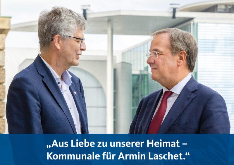 Kommunale für Armin Laschet