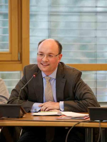 Der neue Vorsitzende der KPV Berlin, Arne Herz;  Foto: Martin Becker