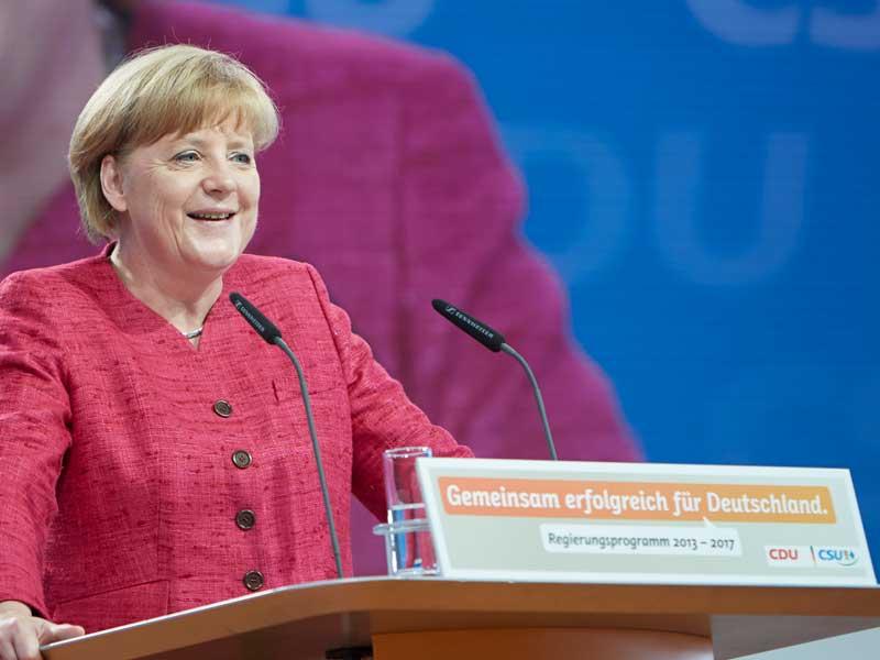 Wahlkampfauftakt der CDU zur Bundestagswahl 2013