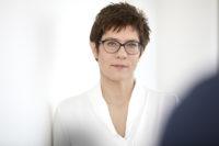 Annegret Kramp-Karrenbauer zu Gast bei der KPV